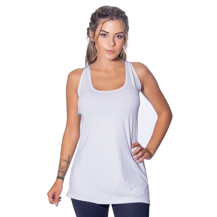 97fa250917 Camiseta Regata Energyfit Melange - Feminina