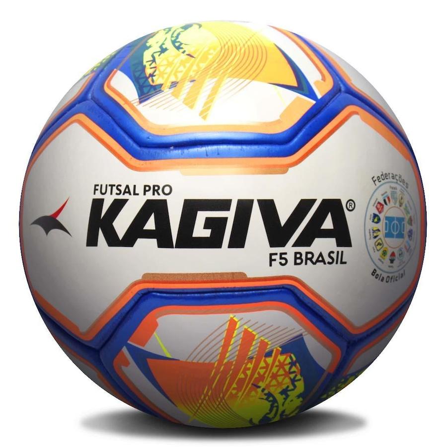 Bola de Futsal Kagiva F5 Brasil Liga Nacional d452f0c1b6542