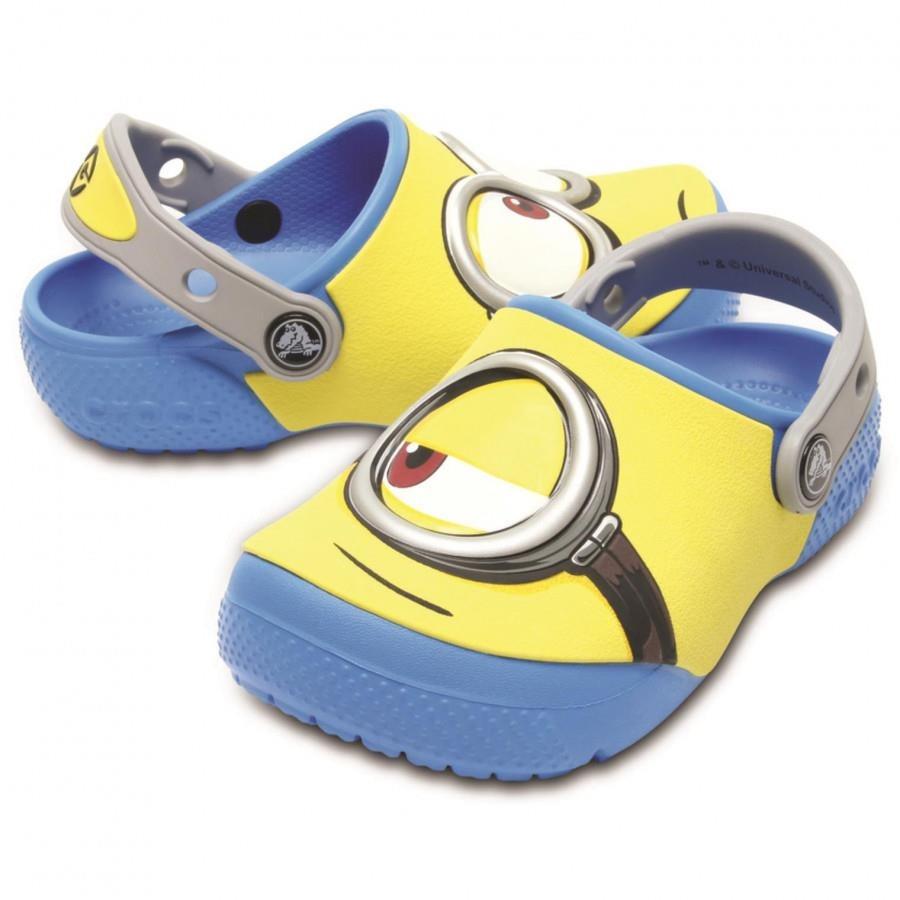 Sandália Crocs Kids Fun Lab Minions - Infantil 2cfe1712bf