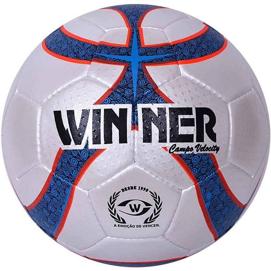 Bola de Futebol de Campo Winner Velocity Oficial df6c5e437cad6