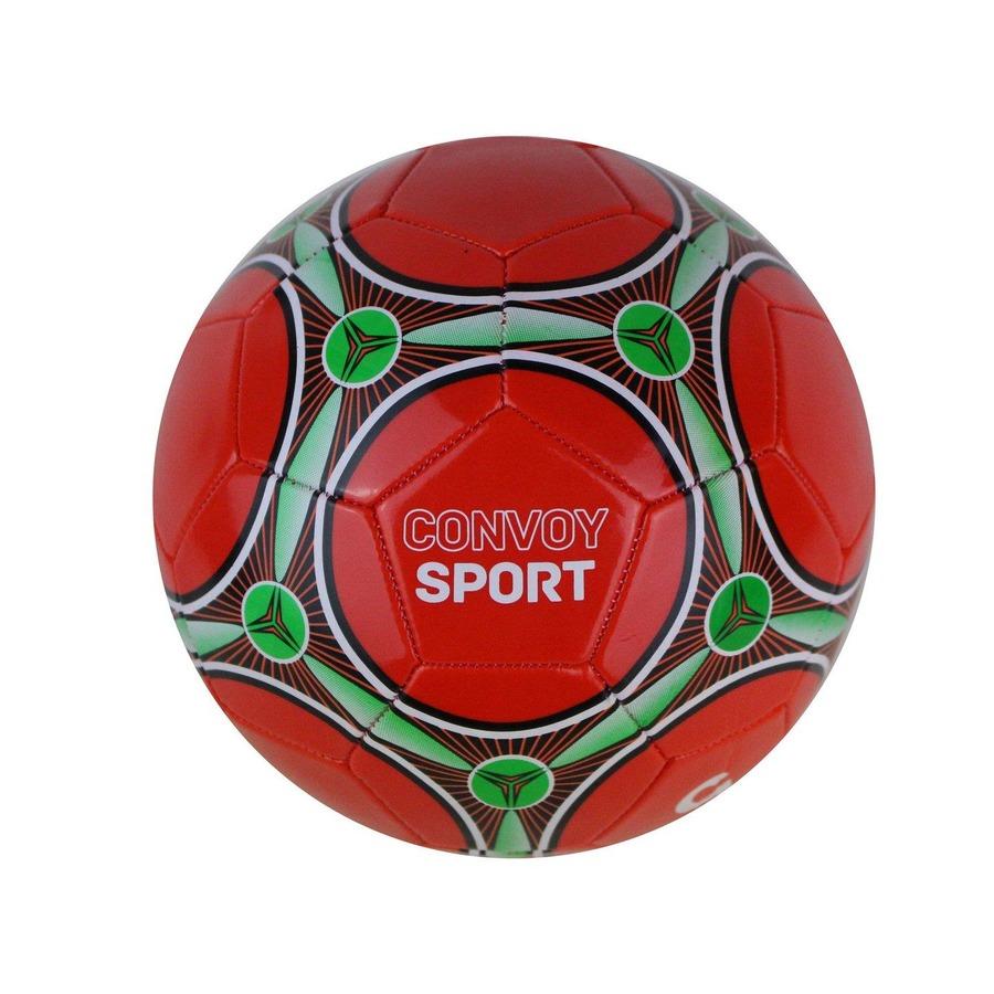 Bola de Futebol Campo Convoy Tradicional Nº5 Vermelho 89e5ea3a7ca91