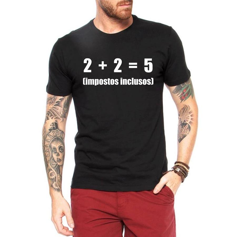 a21cafa9dc71f Camiseta Criativa Urbana Impostos - Masculina