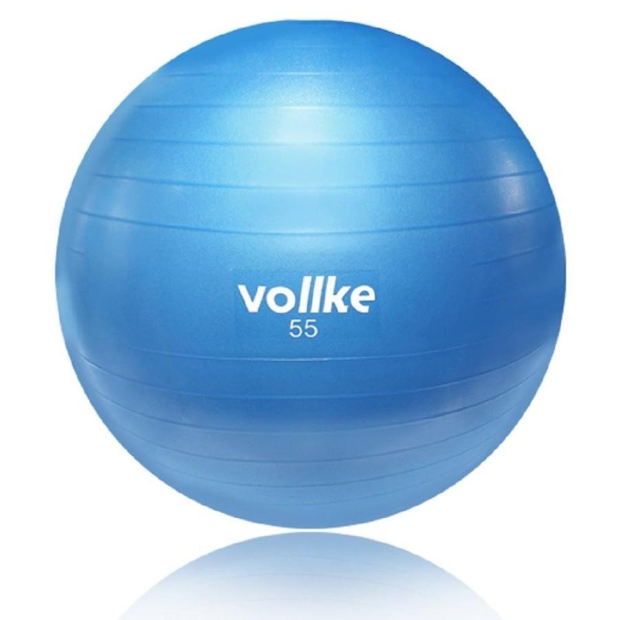 Bola de Pilates Suiça Vollke Antiburst - 55cm fdc73a5bfded0