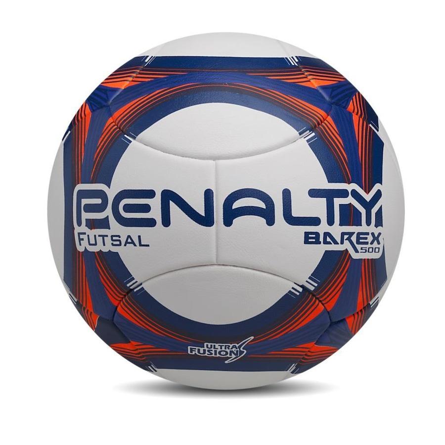 Bola de Futsal Penalty Barex 500 Costurada Oficial 2018 5272d316a4ed7