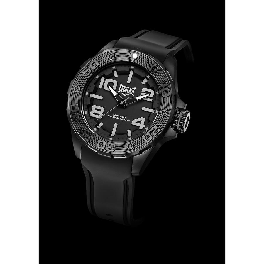 ba82ec5087e Relógio Analógico Everlast Force E616 Caixa ABS e Pulseira Silicone -  Masculino