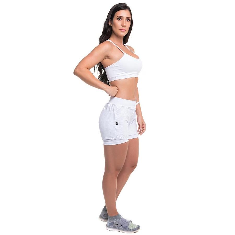47e546768 Conjunto Sandy Fitness Versality Active com Proteção Solar UV50+  Top +  Short - Feminina