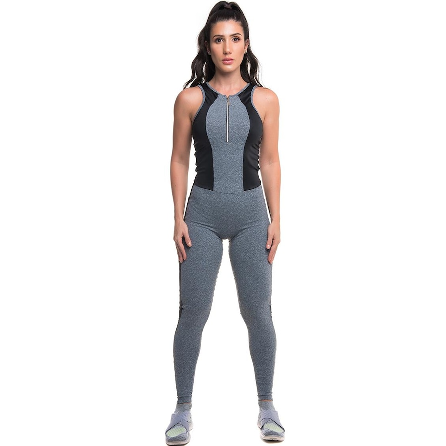 7d59d39a6 Macacão Fitness com Proteção Solar UV50+ Sandy Fitness Fitting - Feminino