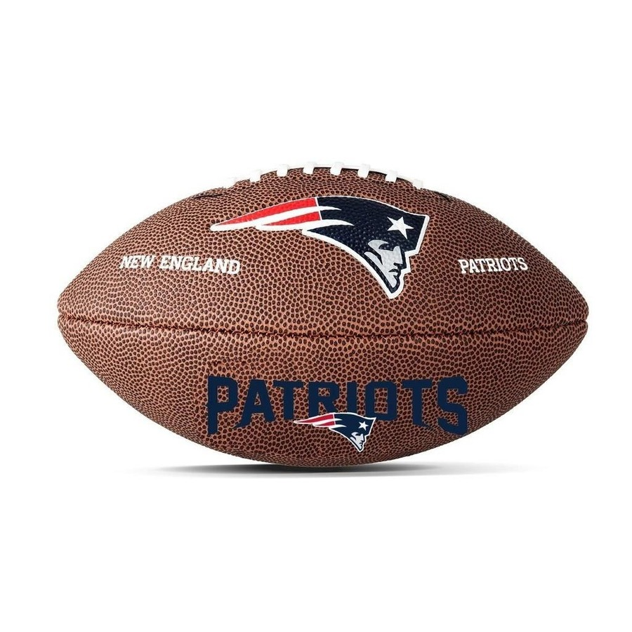 Bola Futebol Americano Wilson New England Patriots b06119db8b8f1