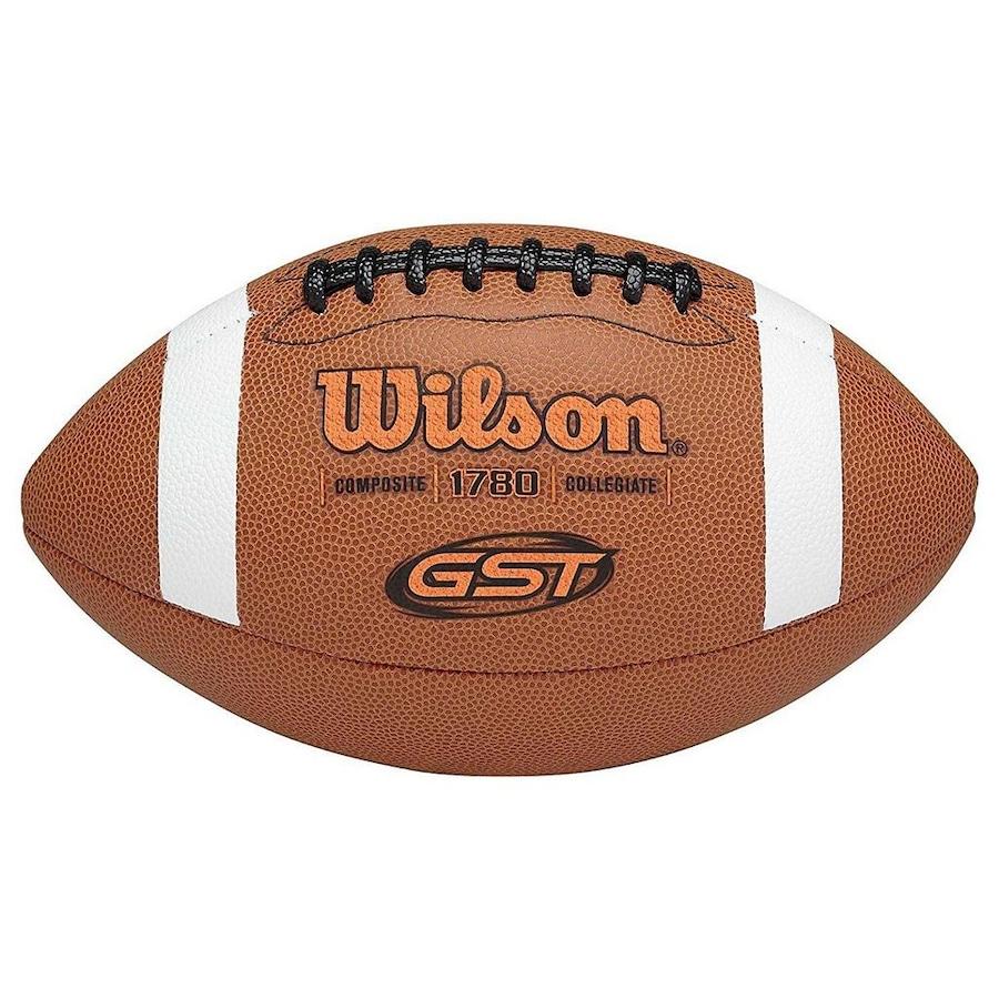Bola de Futebol Americano Wilson NFL GST Composite Oficial fabd0655b1391