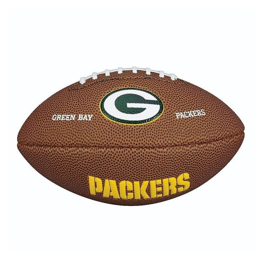 bf6601cb8 Bola de Futebol Americano Wilson Green Bay Packers