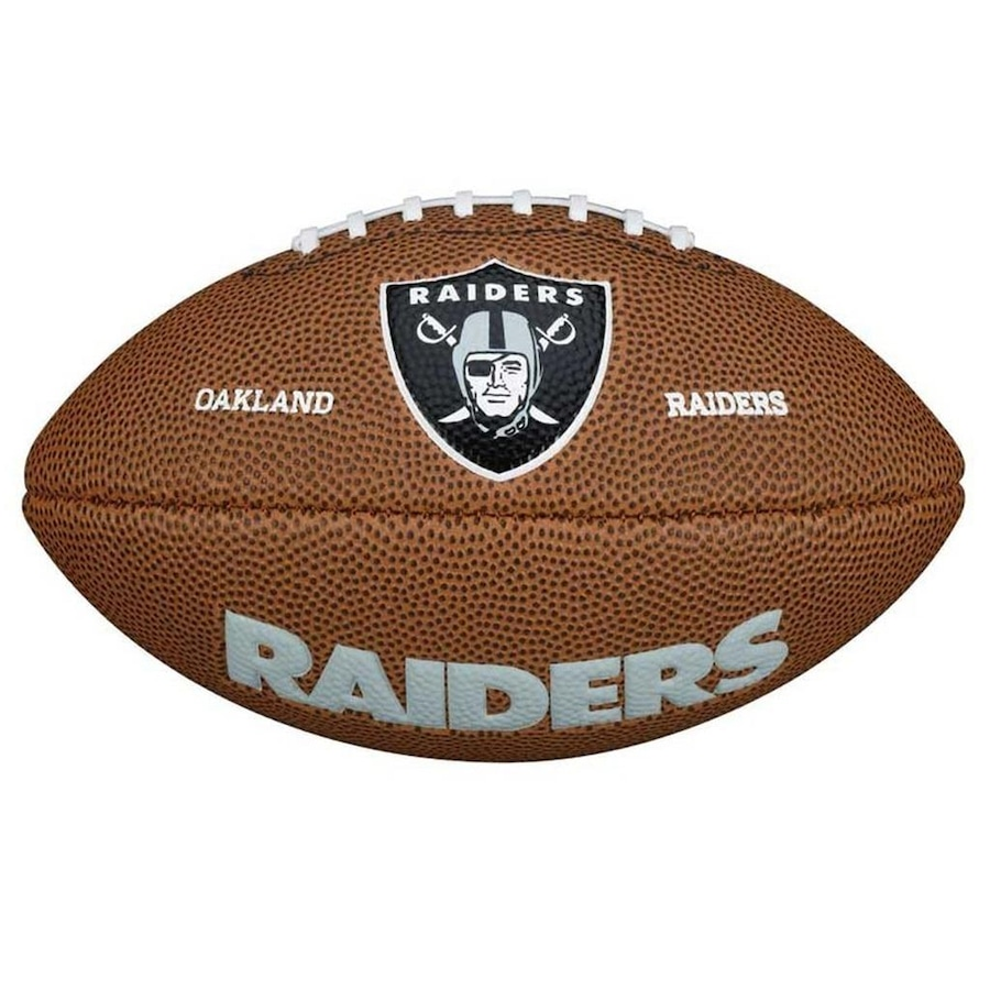 Bola de Futebol Americano Wilson Oakland Raiders 2b68e45becb9d