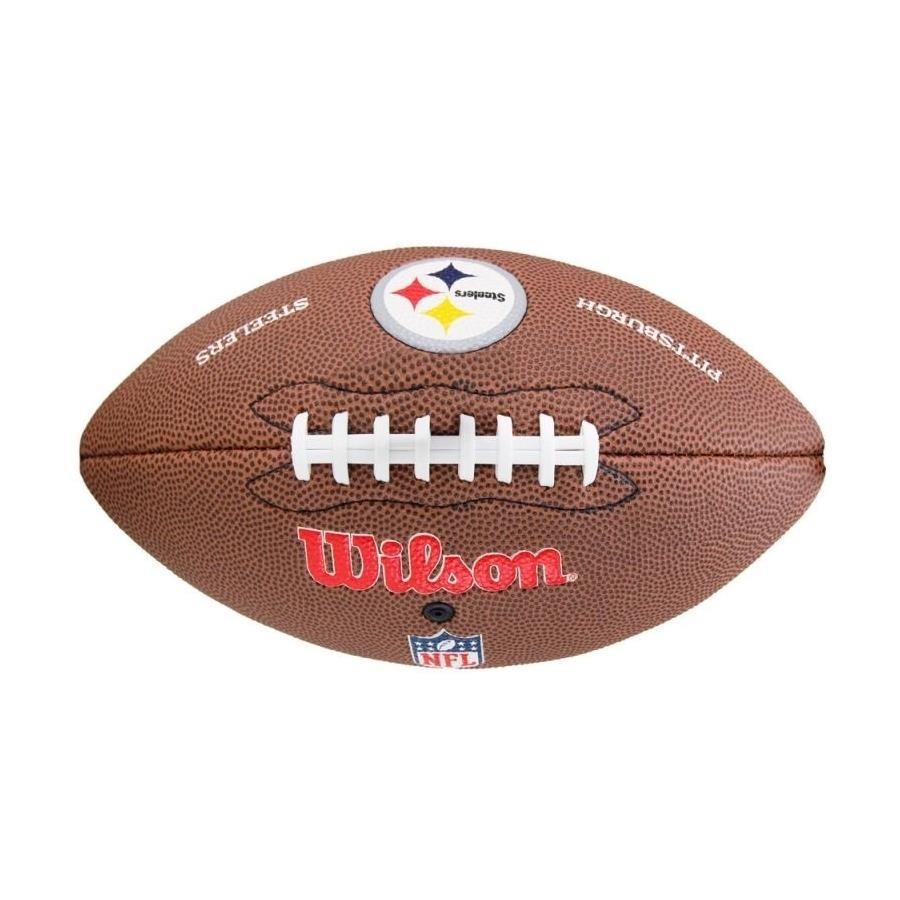 Bola de Futebol Americano Wilson NFL Pittsburgh Steelers 3db24b0d8af08
