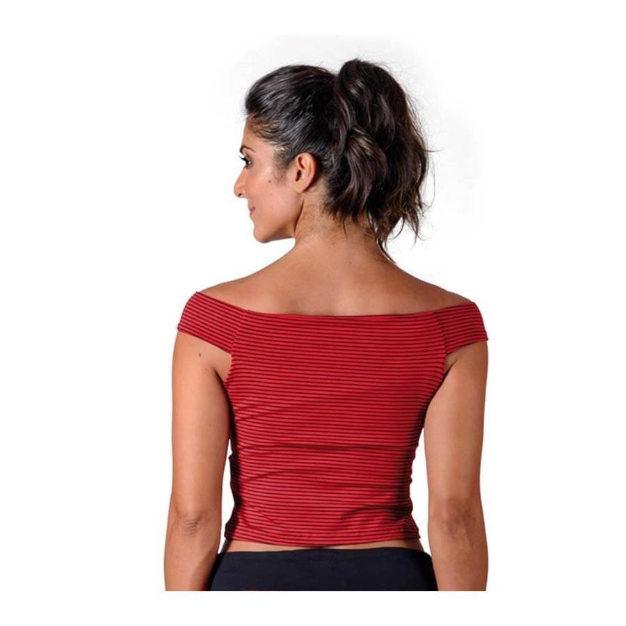 Blusa Cropped do Flamengo Braziline Holder - Feminina 031627334462c