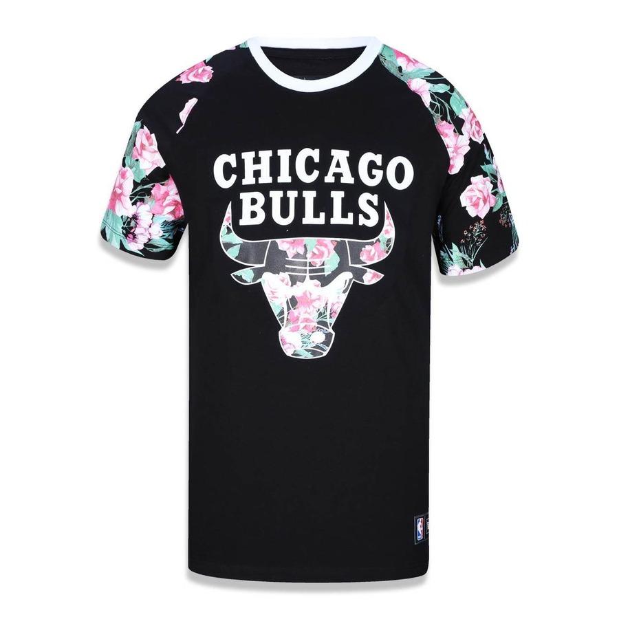 Camiseta New Era Chicago Bulls NBA - 39313 29a63c4ea04