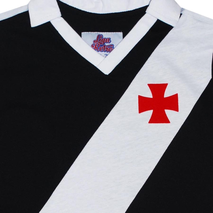 Camiseta do Vasco Liga Retrô 1989 - Infantil f8f6bf63893c8