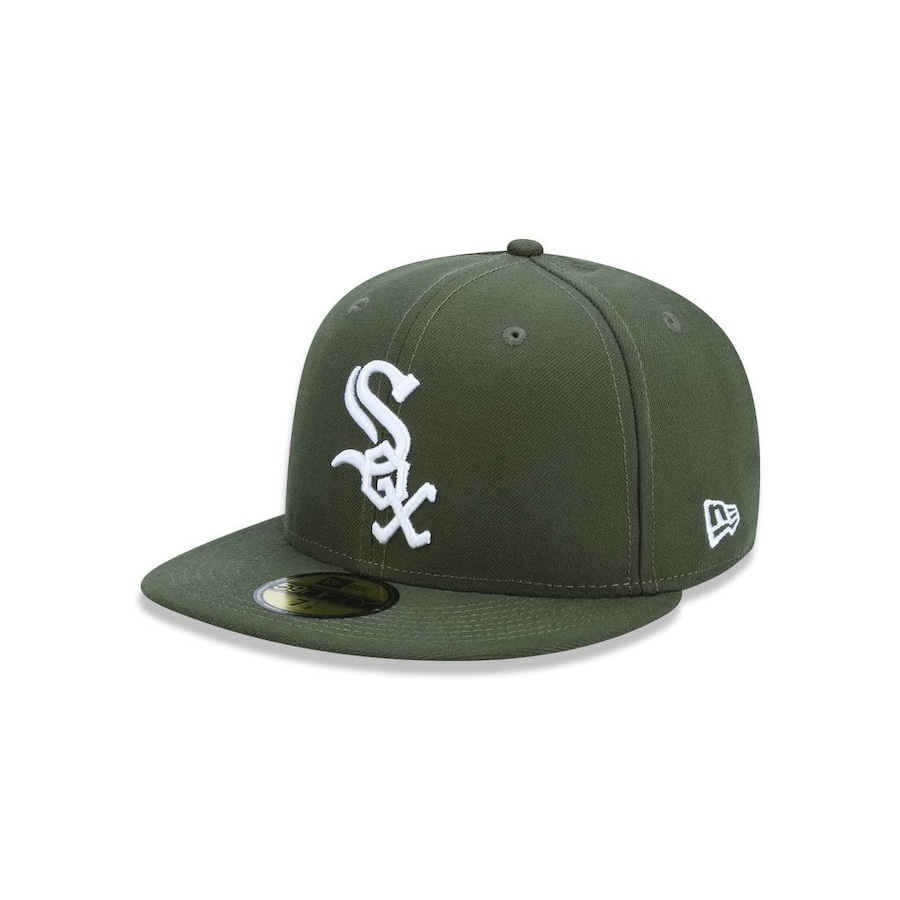 Boné Aba Reta New Era 5950 MLB Chicago White Sox 18896 - Fechado - Adulto 688be63f48f