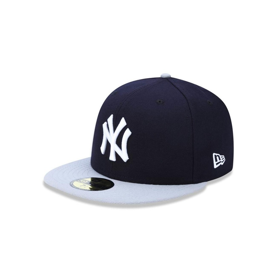 Boné Aba Reta New Era 5950 MLB New York Yankees 42478 - Fechado - Adulto 121631adfe8