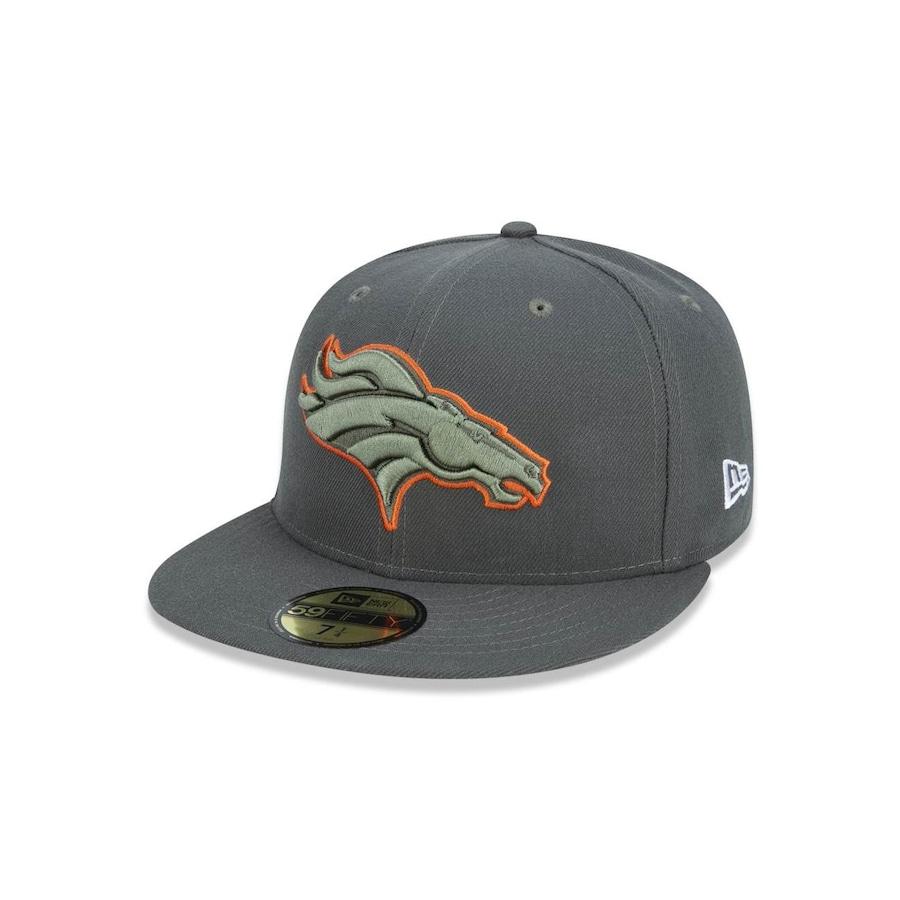 Boné Aba Reta New Era 5950 NFL Denver Broncos 42707 - Fechado - Adulto 53a6ef0d045