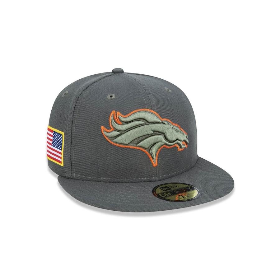 Boné Aba Reta New Era 5950 NFL Denver Broncos 42707 - Fechado - Adulto edbd63d9124e0