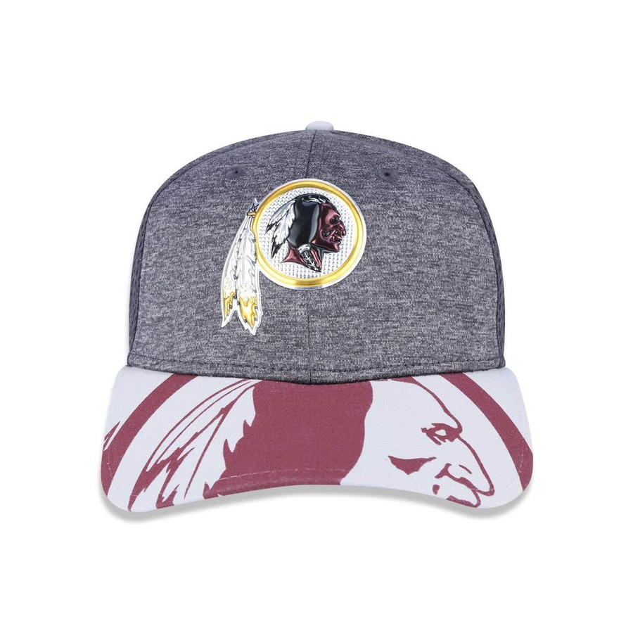 Boné New Era 3930 NFL Washington Redskins 39869 - Fechado - Adulto bd216257314