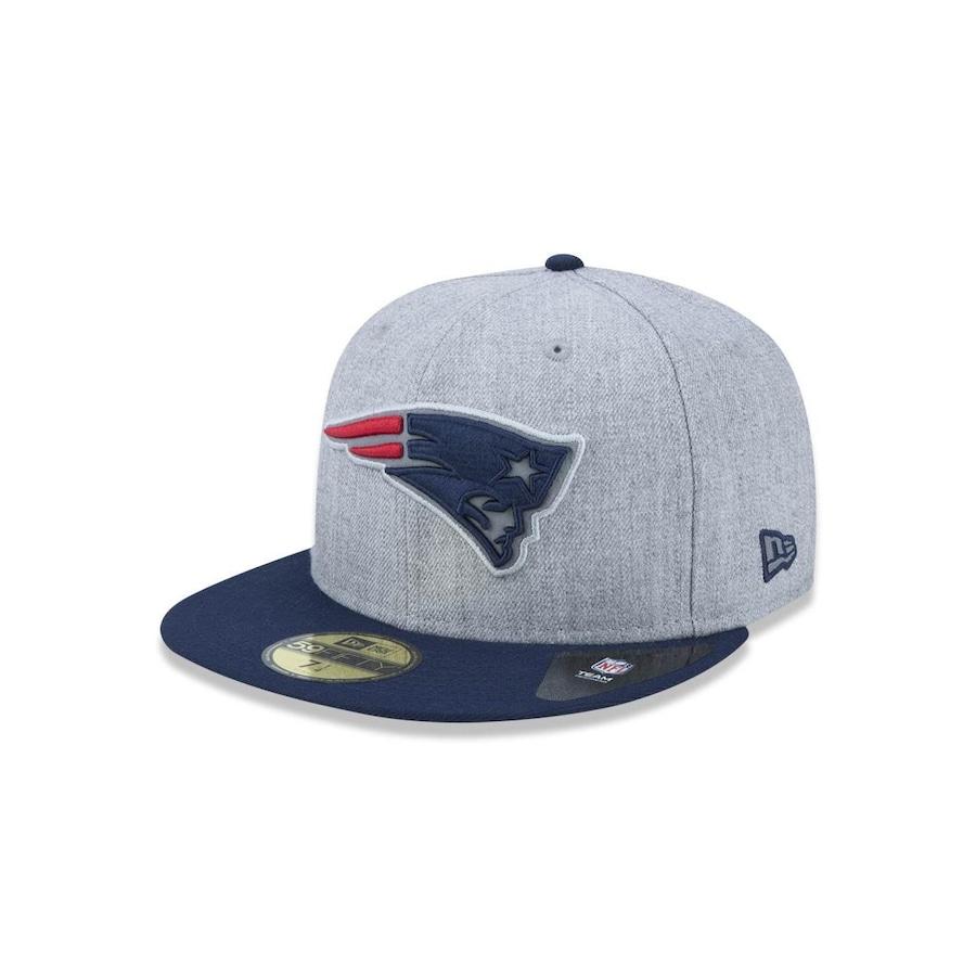 d8f408b43bb73 Boné Aba Reta New Era 5950 NFL New England Patriots 41237 - Fechado - Adulto