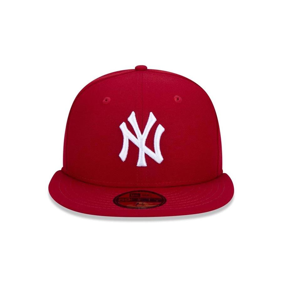 c68fdc47fcbe8 Boné Aba Reta New Era 5950 MLB New York Yankees 17502 - Fechado - Adulto