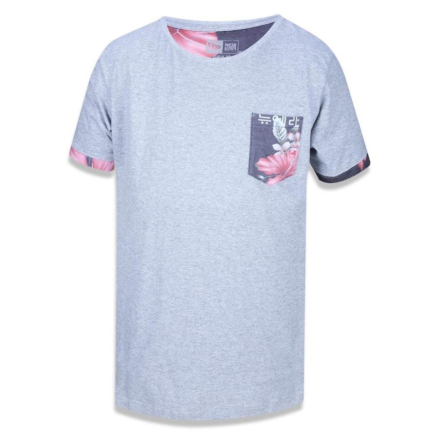 41475933de1f2 Camiseta New Era Branded Bolsinho Floral Korea - 38776