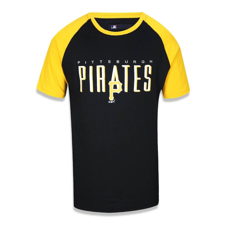 Camiseta New Era Pittsburgh Pirates MLB - 40314 - Masculina 7986fa2db39
