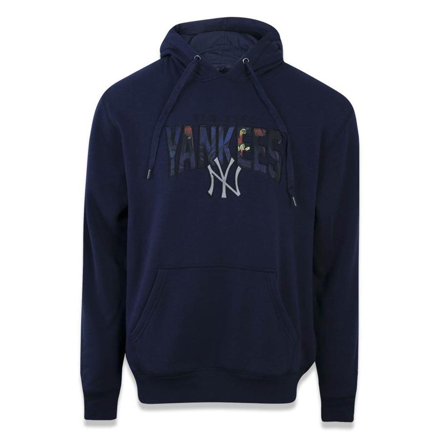 4abb6afa679 Blusão de Moletom com Capuz New Era MLB New York Yankees Canguru 41586 -  Masculino