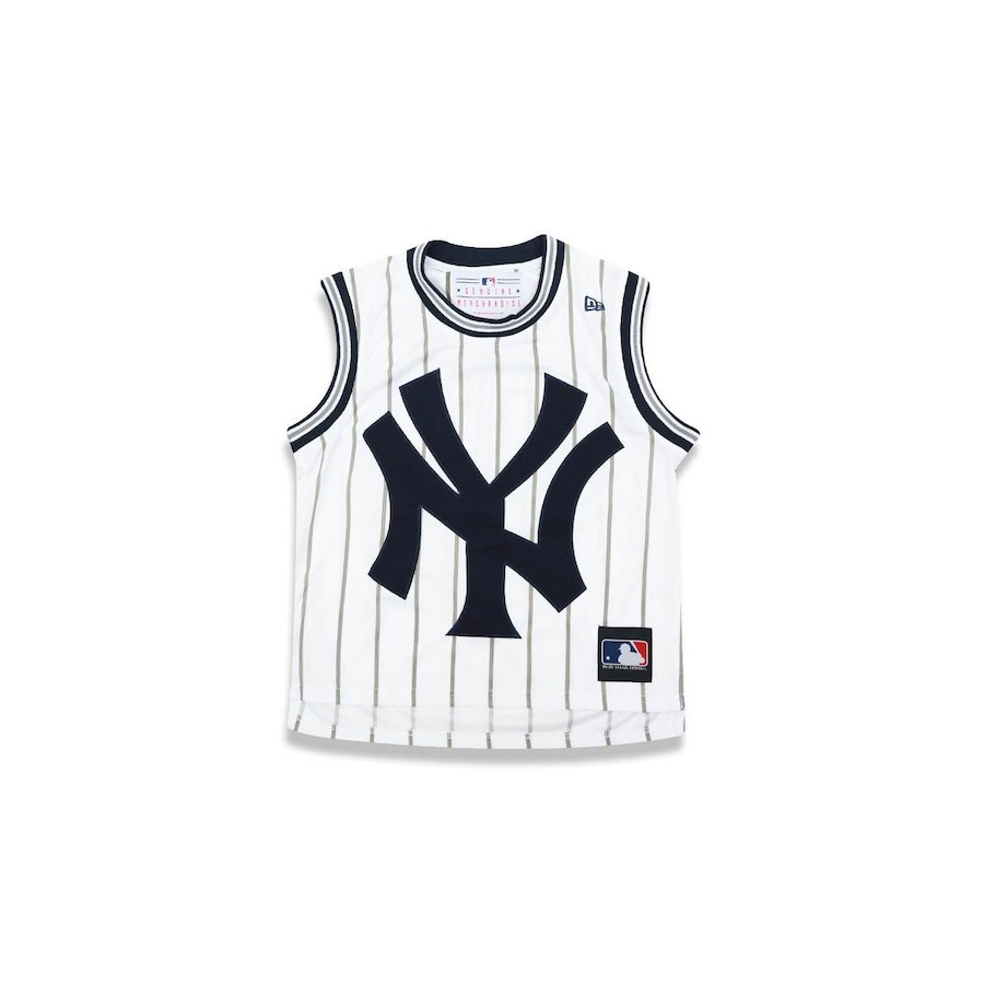 a3e778ec1560f Camiseta Regata New Era MLB New York Yankees NY 27685 - Infantil