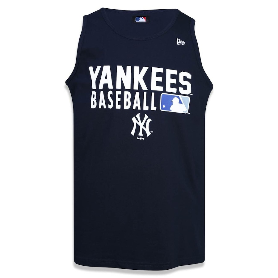 Camiseta Regata New Era MLB New York Yankees Baseball 39453 - Masculina 30b01731cad