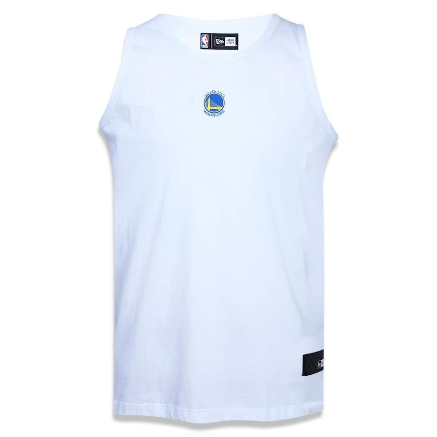 4f956cf74 Camiseta Regata New Era New Golden State Warriors NBA - 40272