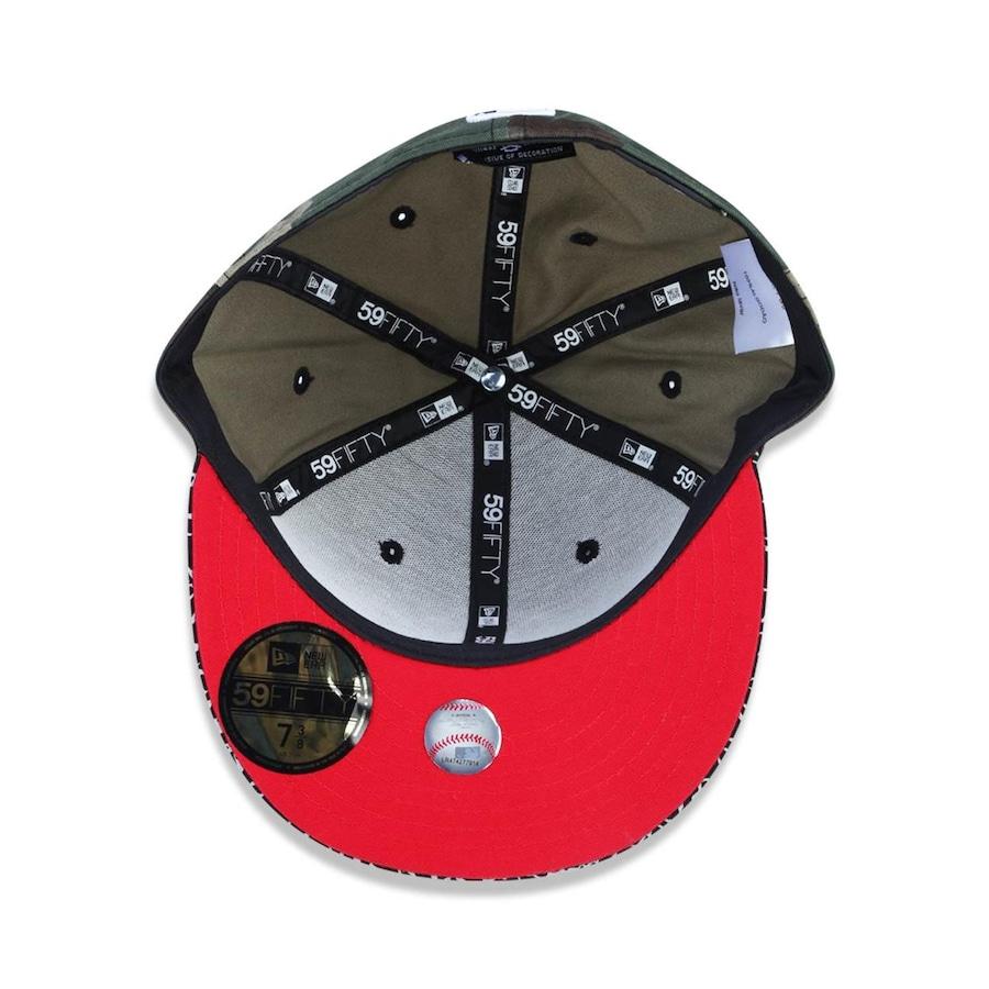 Boné Aba Reta New Era 5950 MLB New York Yankees 26599 - Fechado - Adulto 025ed72c785