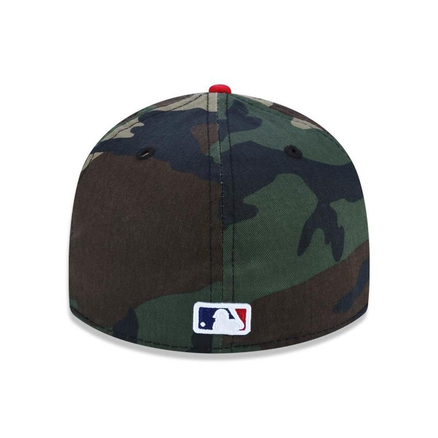 Boné Aba Reta New Era 5950 MLB Los Angeles Dodgers 26600 - Fechado - Adulto aea396483b2