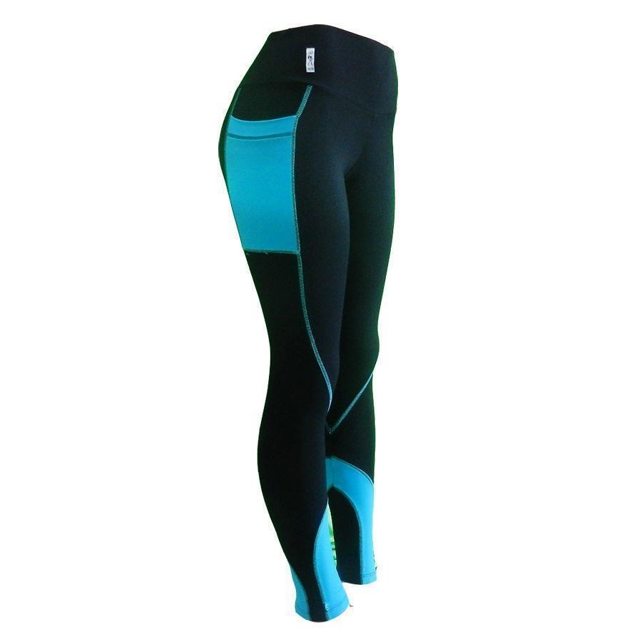 43f101662 Calça Legging com Proteção UV D A Collection Cós Alto com Bolso Lateral -  Feminina