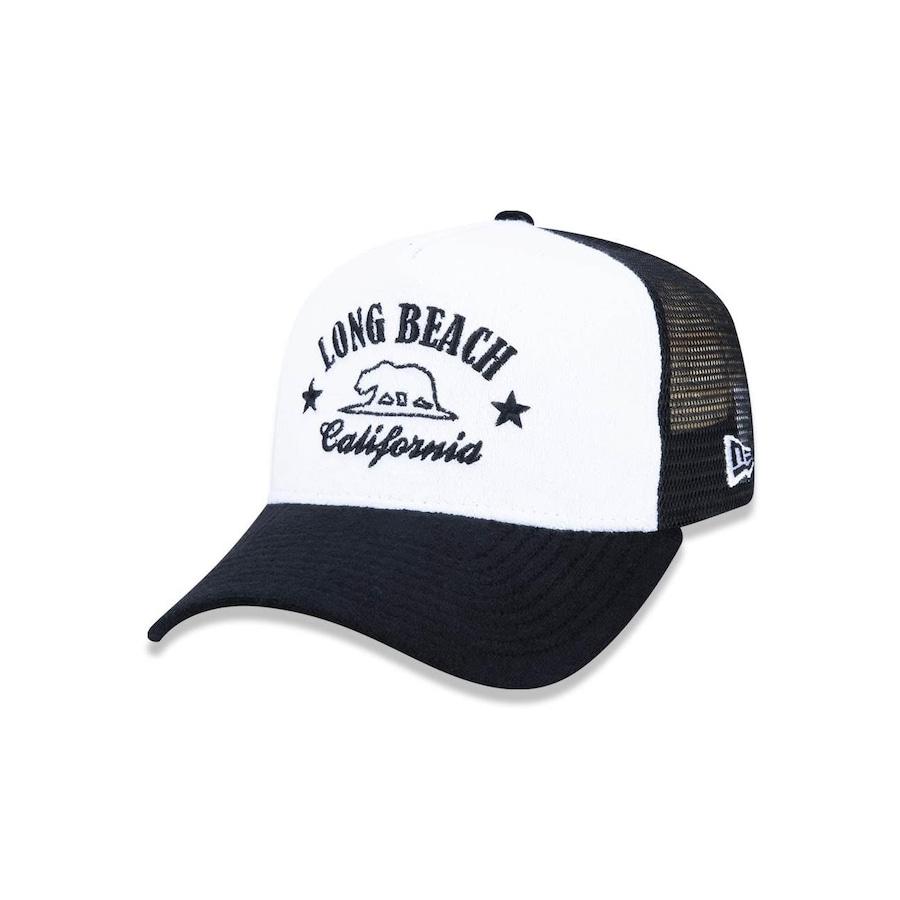 Boné New Era 940 Branded Long Beach 4481 5- Snapback - Trucker - Adulto 205f7654d64