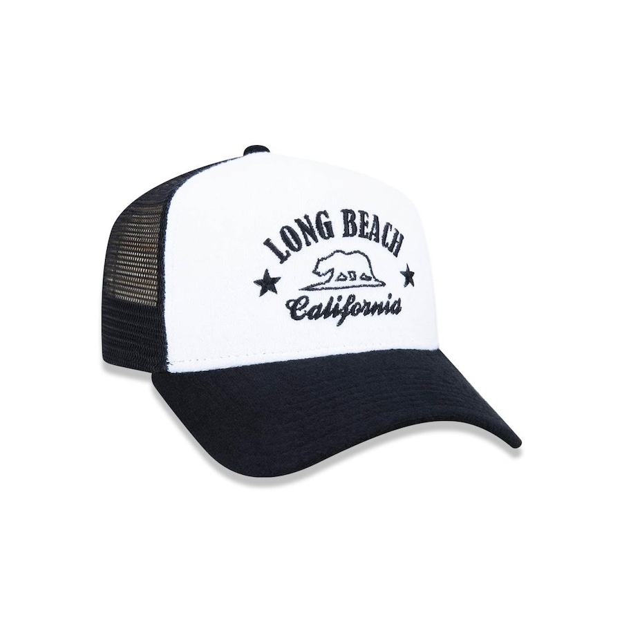Boné New Era 940 Branded Long Beach 4481 5- Snapback - Trucker - Adulto 73db8ecde0f