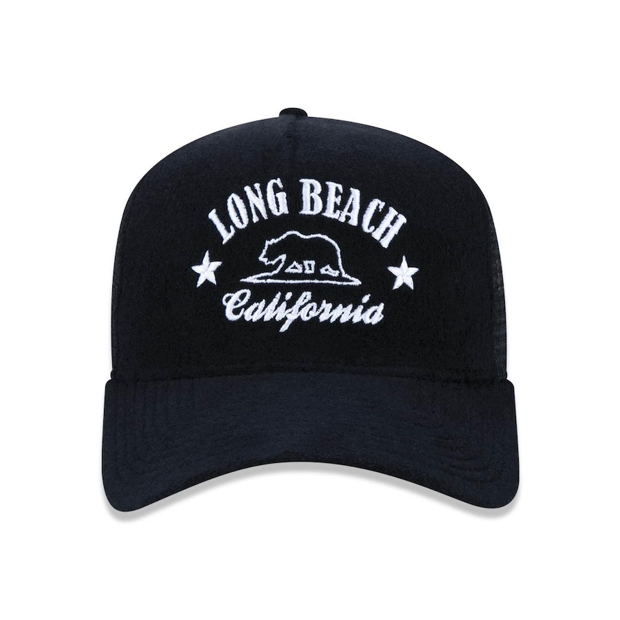 Boné New Era 940 Branded Long Beach 44813 - Snapback - Trucker - Adulto ce132451f48