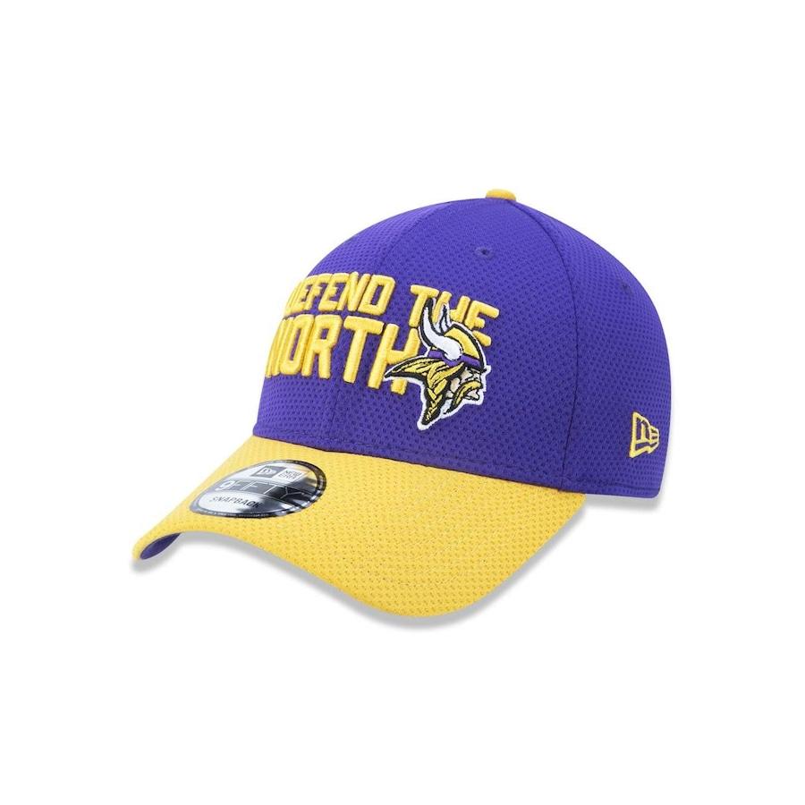 4cdd9de291e98 Boné Aba Curva New Era 3930 NFL Minnesota Vikings 43445 - Fechado - Adulto