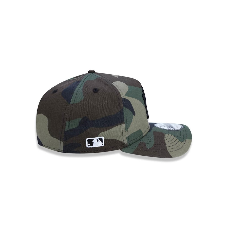 Boné Aba Curva New Era 940 MLB New York Yankees Camuflado 42924 - Snapback  - Adulto fd056c840ee