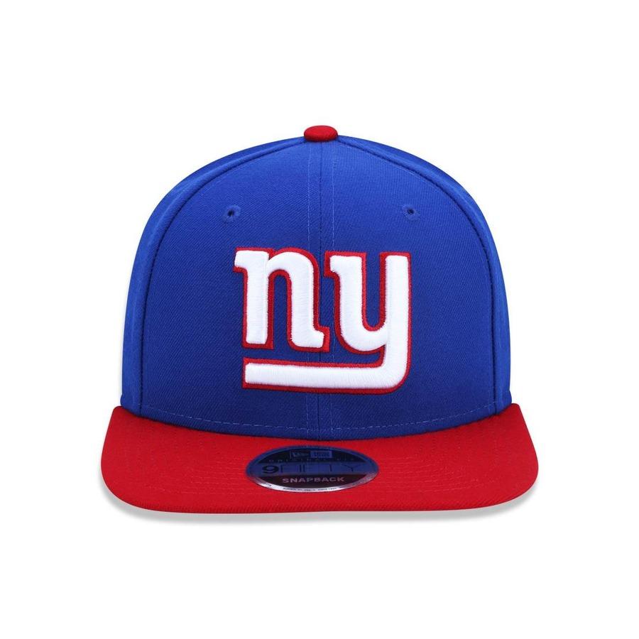 Boné Aba Reta New Era 950 Original Fit New York Giants NFL - 32843 -  Snapback - Adulto 7a83e16bed0