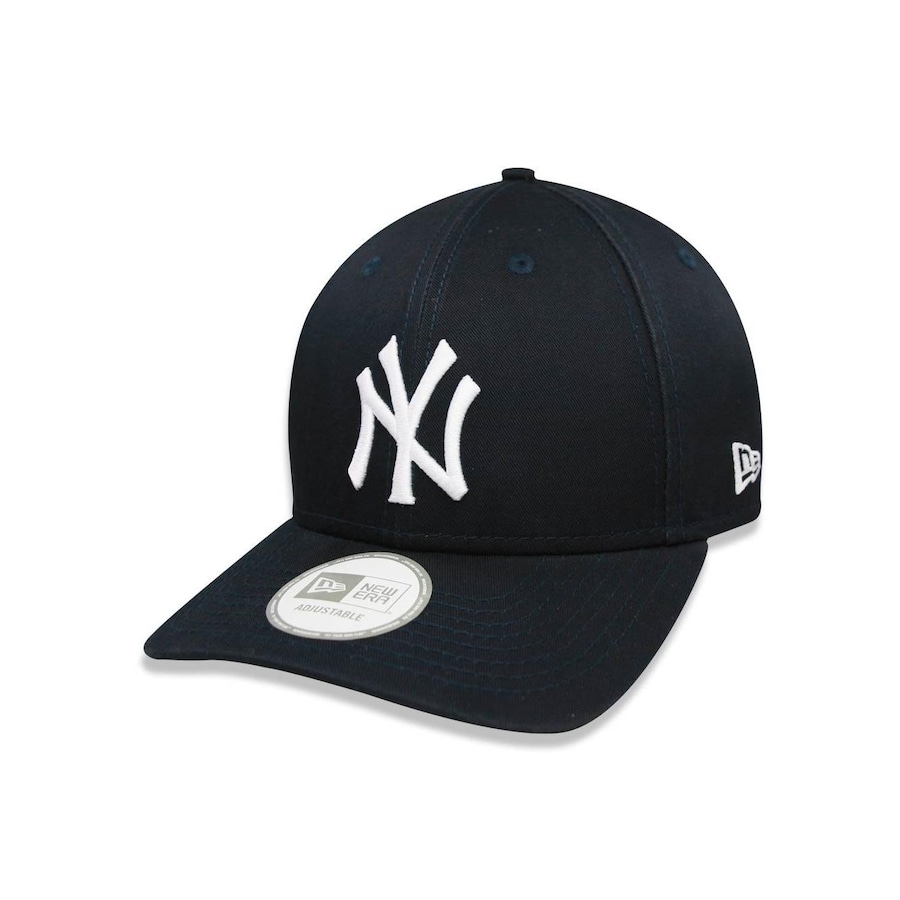 Boné Aba Curva New Era 940 New York Yankees MLB - 15851 - Strapback - Adulto c73bd73beaa