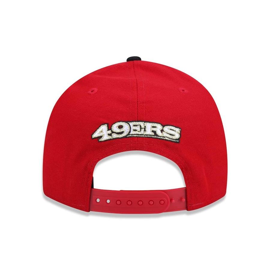 Boné Aba Reta New Era 950 Original Fit San Francisco 49ers NFL - 32850 -  Snapback - Adulto 3b47a403219a6