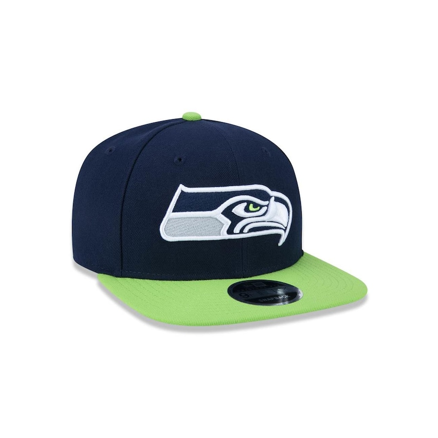 Boné Aba Reta New Era 950 Original Fit Seattle Seahawks NFL - 32846 -  Snapback - Adulto 541afedd8bd
