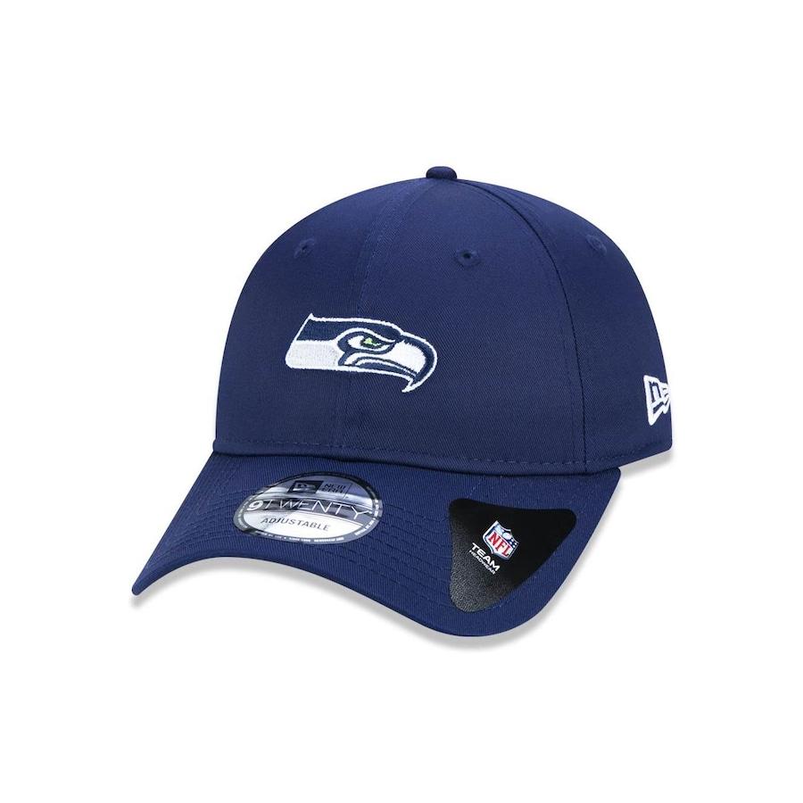 Boné Aba Curva New Era 920 NFL Seattle Seahawks 44715 - Strapback - Adulto 010ddcdff58