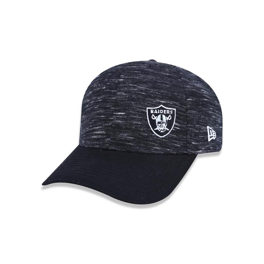 846e8b13d987f Boné Aba Curva New Era 940 Oakland Raiders NFL - 40066 - Snapback - Adulto
