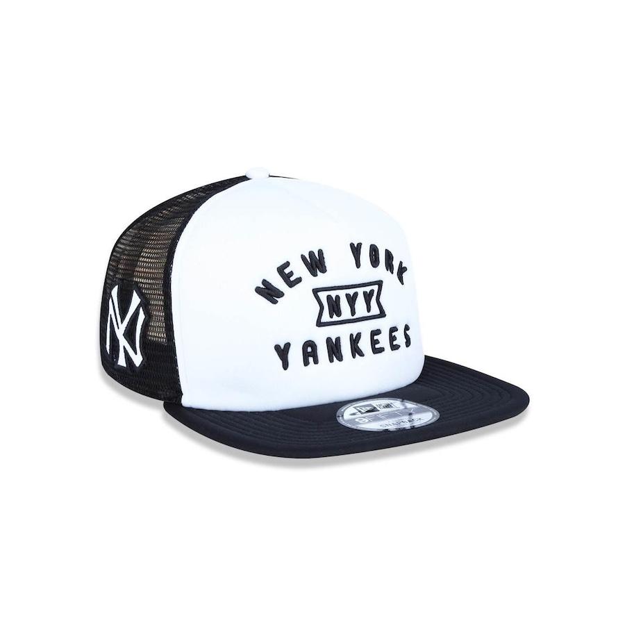 Boné Aba Reta New Era 950 New York Yankees MLB A-Frame - 41323 - Snapback -  Adulto 9b03ca4c376