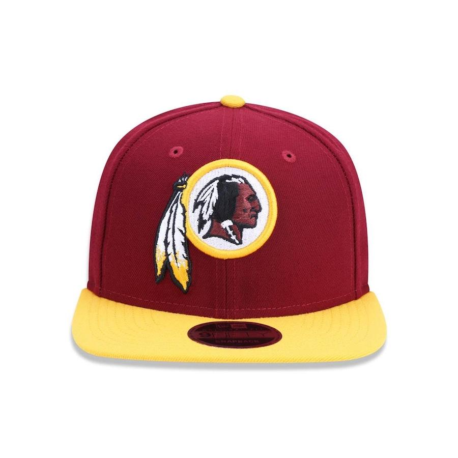 3234526757c1e Boné Aba Reta New Era 950 NFL Original Fit Washington Redskins 32840 -  Snapback - Adulto