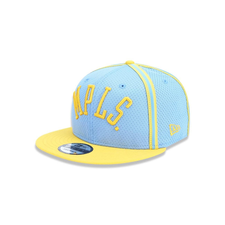 Boné Aba Reta New Era 950 Los Angeles Lakers NBA - 42429 - Snapback - Adulto fae6b753529