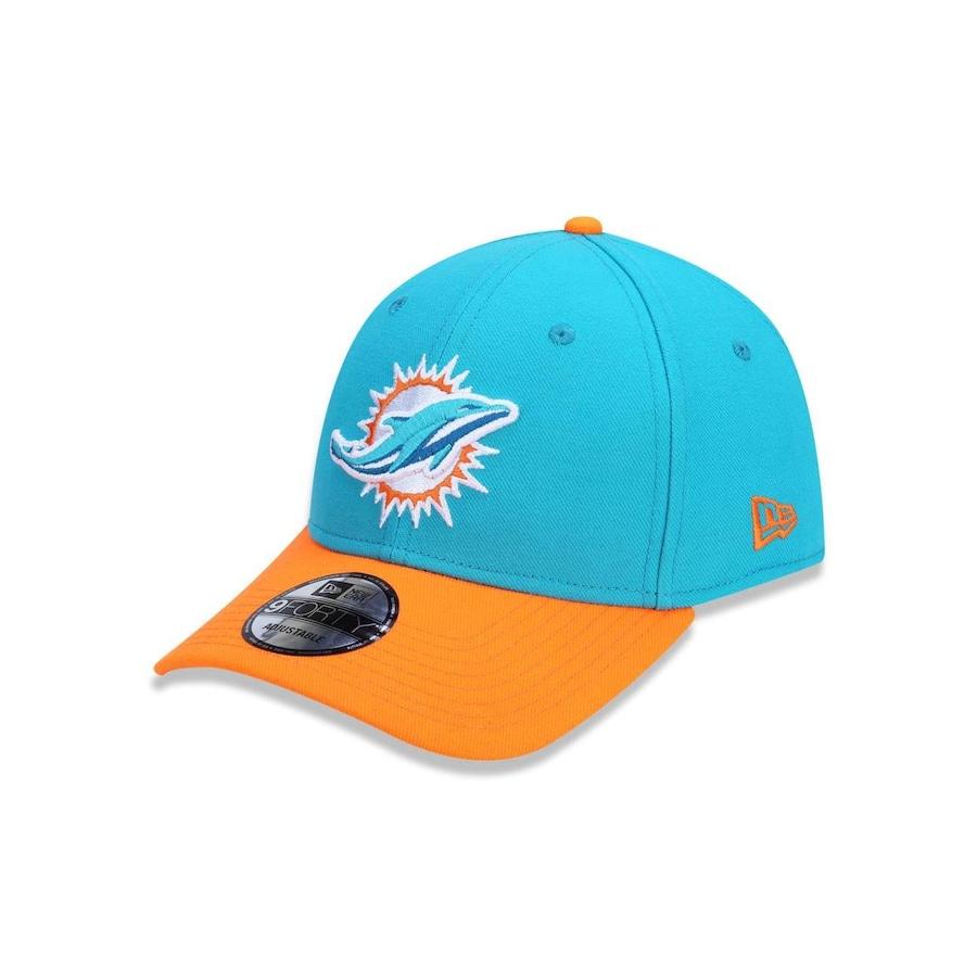 6aa437372b7fd Boné New Era 940 NFL Miami Dolphins 42174 - Snapback - Adulto